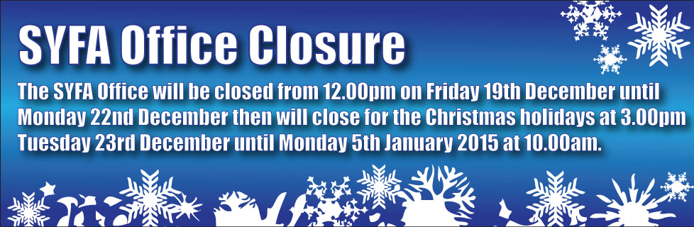 christmas office closure 2014