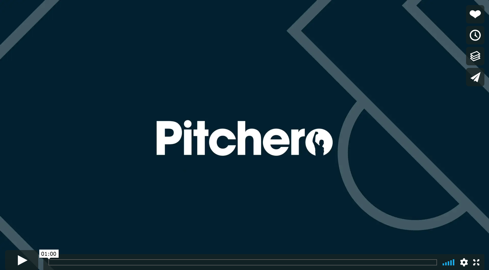 Pitchero video